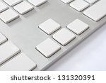 Computer Keyboard With Blank...