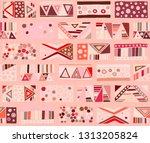 seamless vector pattern.... | Shutterstock .eps vector #1313205824