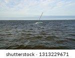 Boat Sinking In Choppy Water