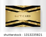 gift card  gift card discount   ... | Shutterstock .eps vector #1313235821