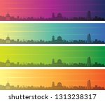 sofia multiple color gradient...   Shutterstock .eps vector #1313238317