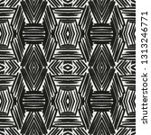 black and white abstract... | Shutterstock . vector #1313246771