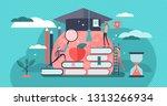 education vector illustration.... | Shutterstock .eps vector #1313266934