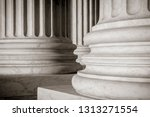 abstract close up of the... | Shutterstock . vector #1313271554