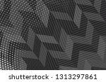 beautiful black abstract... | Shutterstock . vector #1313297861