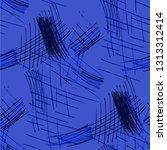 various pencil hatches.... | Shutterstock .eps vector #1313312414