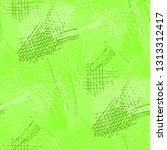 various pen hatches. seamless... | Shutterstock .eps vector #1313312417