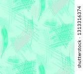 various pen hatches. seamless... | Shutterstock .eps vector #1313316374