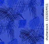 various hatches. seamless... | Shutterstock .eps vector #1313319911