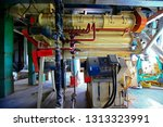 machinery manufacturing... | Shutterstock . vector #1313323991