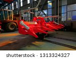 machinery manufacturing... | Shutterstock . vector #1313324327