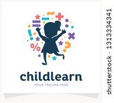 kids learning school logo... | Shutterstock .eps vector #1313334341