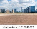 panoramic skyline and modern... | Shutterstock . vector #1313343077