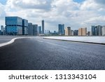 panoramic skyline and modern... | Shutterstock . vector #1313343104