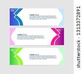 banner background   modern web... | Shutterstock .eps vector #1313372891