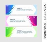 banner background   modern web... | Shutterstock .eps vector #1313372927
