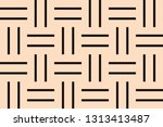 decorative wallpaper design in... | Shutterstock .eps vector #1313413487
