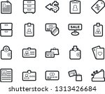 bold stroke vector icon set  ... | Shutterstock .eps vector #1313426684