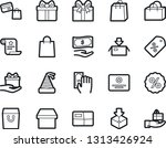 bold stroke vector icon set  ... | Shutterstock .eps vector #1313426924