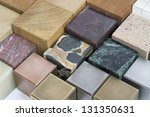 lots of various cubes made of... | Shutterstock . vector #131350631