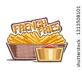 Logo For French Fries  Poster...