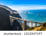 Aerial Bixby Bridge  Rocky...