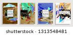 artistic covers design....   Shutterstock .eps vector #1313548481