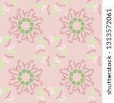 lavish branches elegant... | Shutterstock .eps vector #1313572061