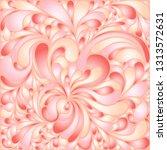 silk texture fluid shapes ... | Shutterstock .eps vector #1313572631