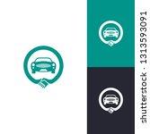 car deal logo inspiration... | Shutterstock .eps vector #1313593091