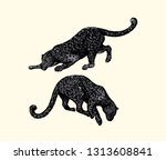 vector illustration of hand... | Shutterstock .eps vector #1313608841