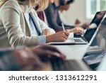 hands of the unrecognizable...   Shutterstock . vector #1313612291