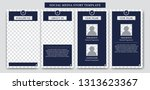 social media ig instagram story ... | Shutterstock .eps vector #1313623367