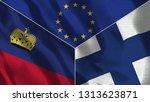 lichtenstein and finland 3d...   Shutterstock . vector #1313623871