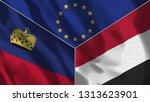 lichtenstein and yemen 3d...   Shutterstock . vector #1313623901