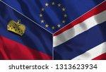 lichtenstein and thailand 3d...   Shutterstock . vector #1313623934