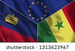 lichtenstein and senegal 3d...   Shutterstock . vector #1313623967