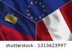 lichtenstein and peru 3d...   Shutterstock . vector #1313623997