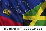 lichtenstein and jamaica 3d...   Shutterstock . vector #1313624111