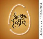 Happy Easter Script Lettering...