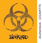 biohazard | Shutterstock .eps vector #131369774
