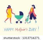 colorful vector illustration... | Shutterstock .eps vector #1313716271