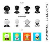 vector design of imitator and... | Shutterstock .eps vector #1313729741