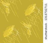 various pencil hatches.... | Shutterstock .eps vector #1313732711