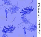 various pencil hatches.... | Shutterstock .eps vector #1313732744