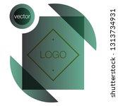 modern icon design logo element ... | Shutterstock .eps vector #1313734931