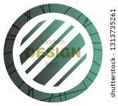 minimalistic design  creative... | Shutterstock .eps vector #1313735261