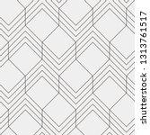 vector seamless pattern. modern ... | Shutterstock .eps vector #1313761517
