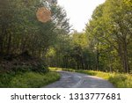 Rural Road Winding Through The...