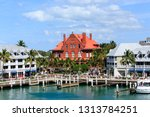 key west  florida   february 28 ... | Shutterstock . vector #1313784251